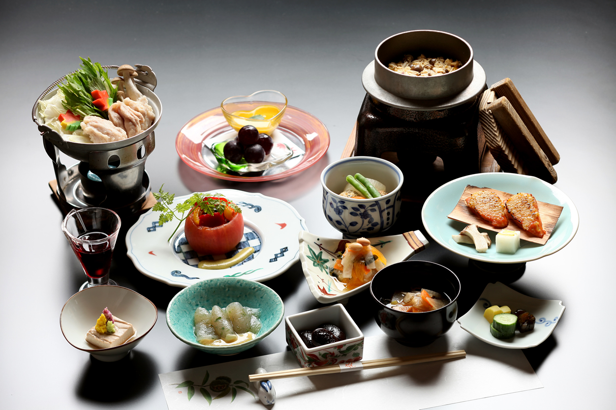 Meal at ryokan you can fully enjoy washoku for Cuisine restaurant