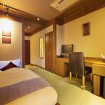 Onsen Ryokan with Beds and Western Style Meals