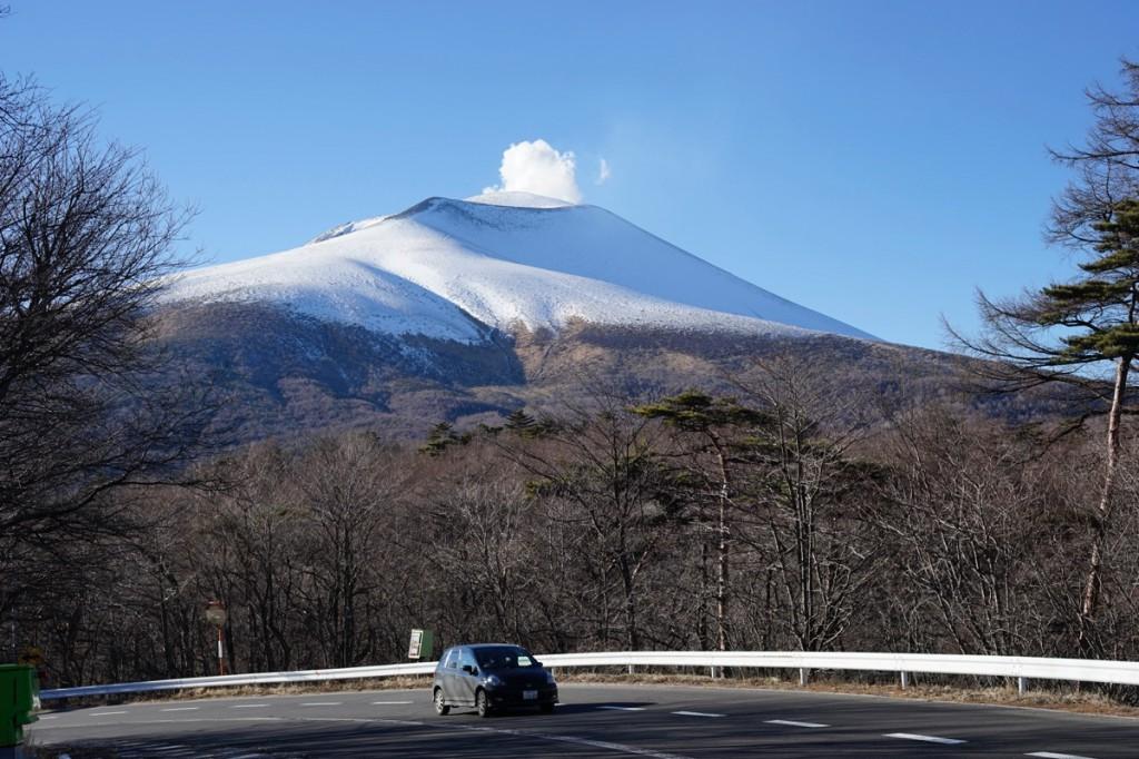 Mount Asama, Shima to Karuizawa