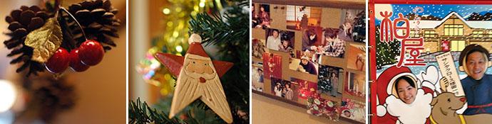 クリスマスは館内全体がフォトスポット