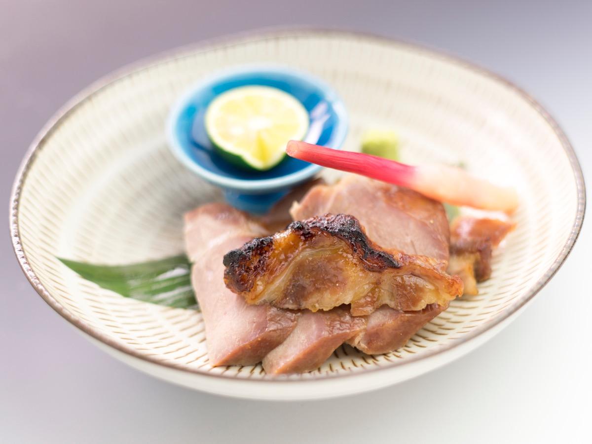 麦豚の味噌漬け焼き