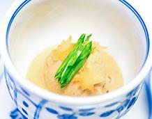 豆腐野菜まんじゅう、くるみあん