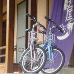 レンタル自転車始めました!