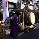 奇祭・中之条鳥追い祭りとどんど焼き(1月14日)