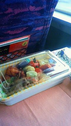 新幹線とお弁当