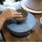 四万温泉で陶芸体験