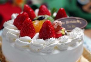 バースデーケーキ四万温泉