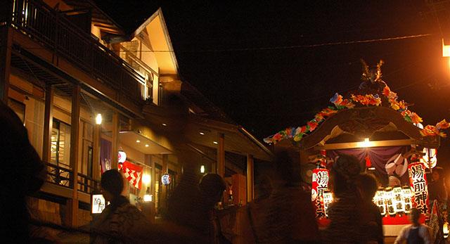 四万温泉湯前神社大祭