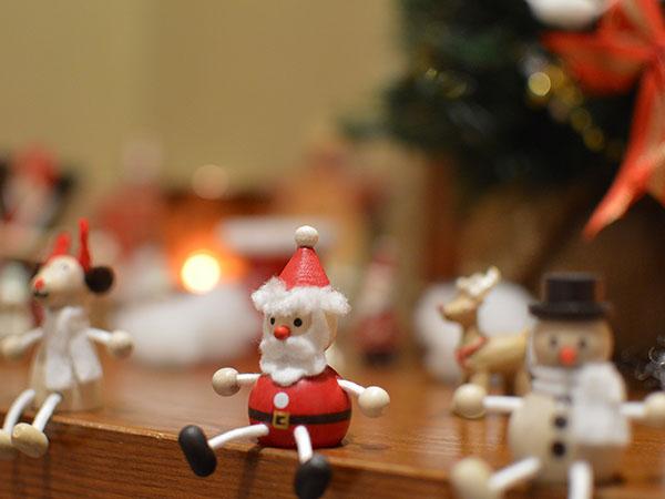 四万温泉柏屋旅館のクリスマス