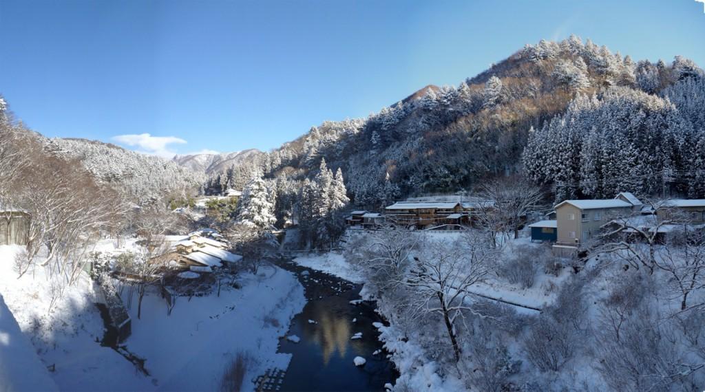 雪見の四万温泉