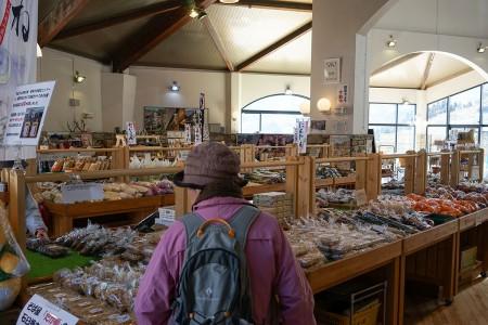 道の駅の農産物直売所