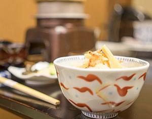 桜海老と筍のご飯