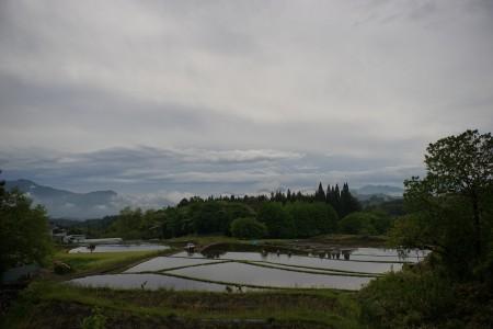 伊参(いさま)地区の田園風景