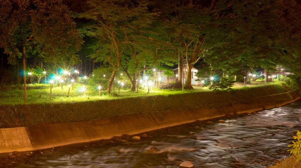 四万灯り、中之条ビエンナーレ