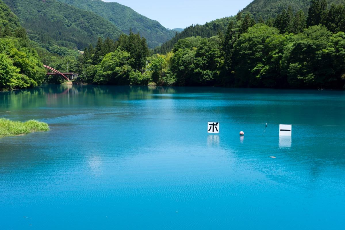 Shima Lake (Nakanojo Dam)