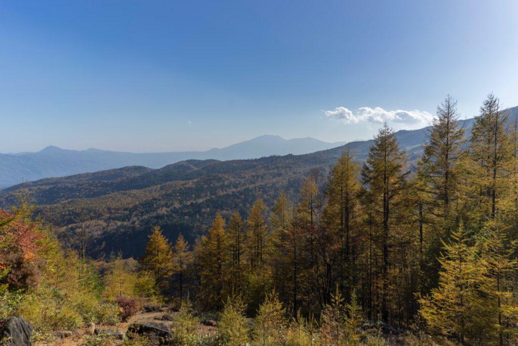 八石山からの眺め