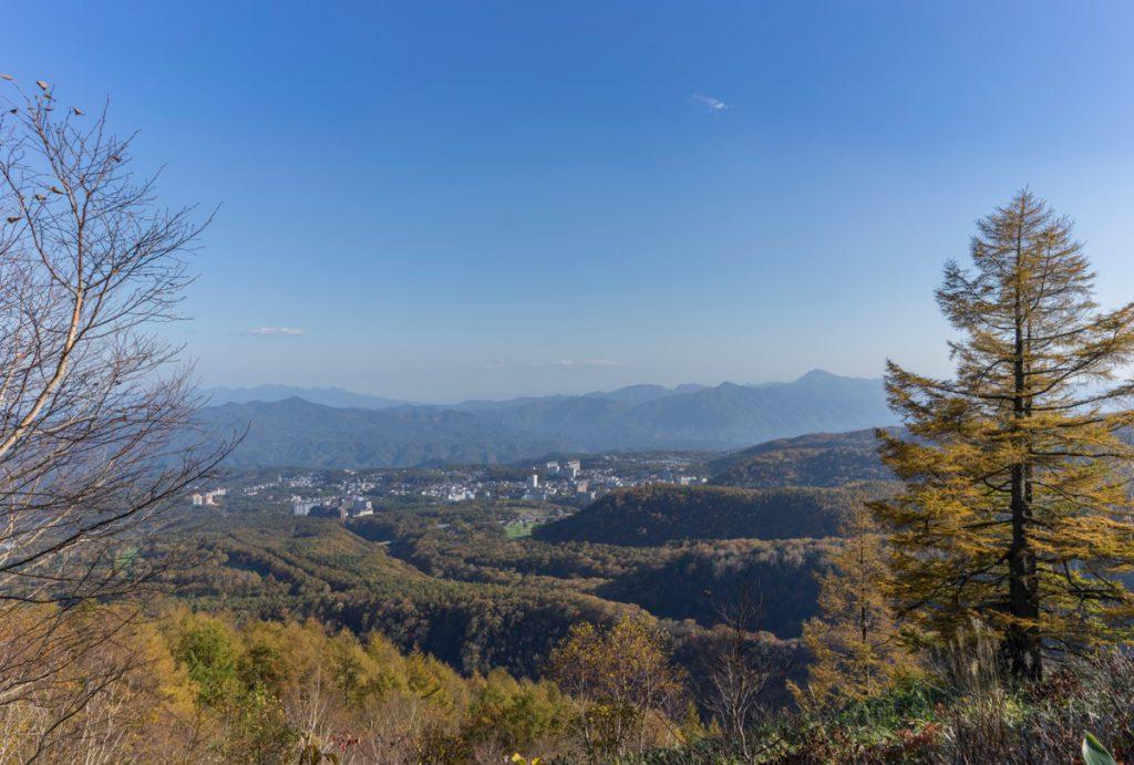 八石山から草津温泉