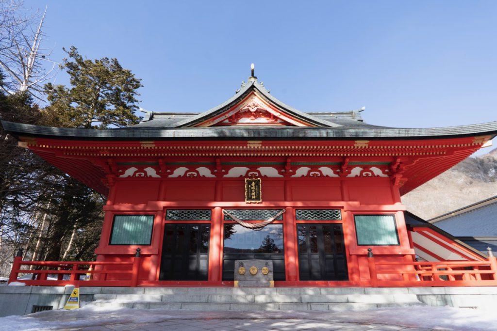 山頂の赤城神社