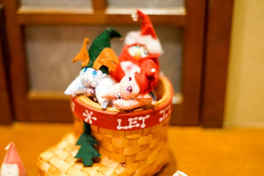 柏屋にゃんこクリスマスバージョン