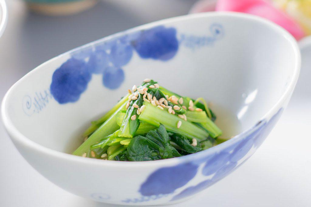 芹と小松菜
