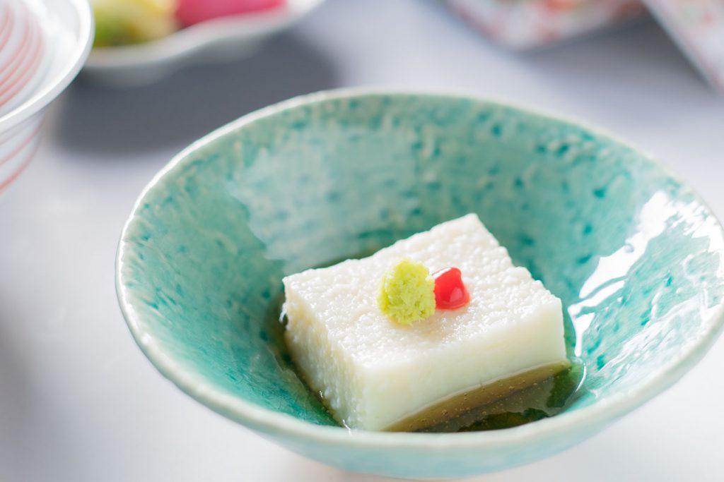 大和芋豆腐 昆布出し
