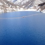 四万温泉 2月のみどころ『奥四万湖』