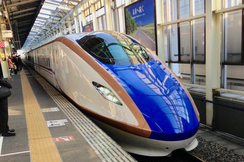 高崎まで新幹線で