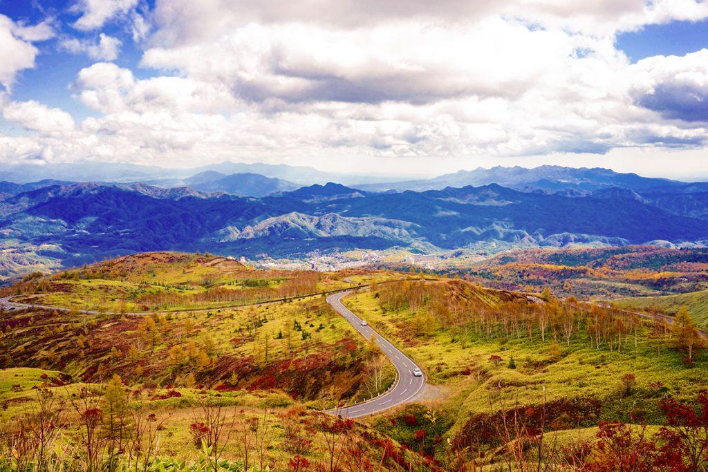 志賀草津高原ルートの紅葉