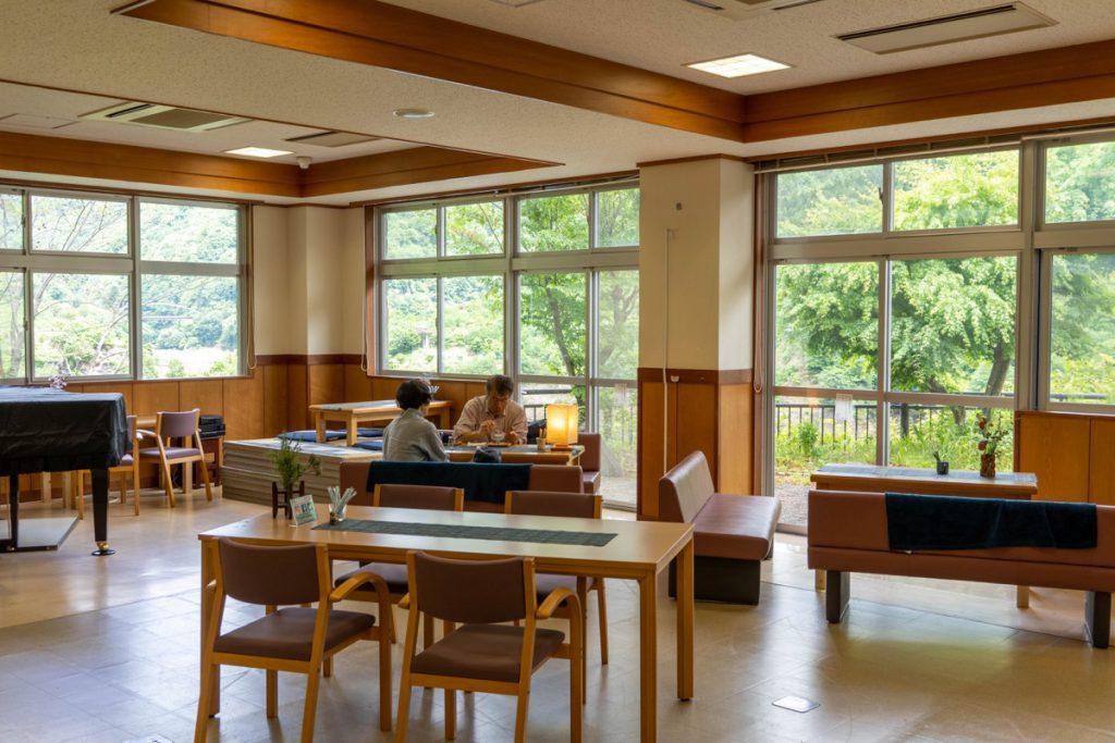 奥四万湖のカフェ