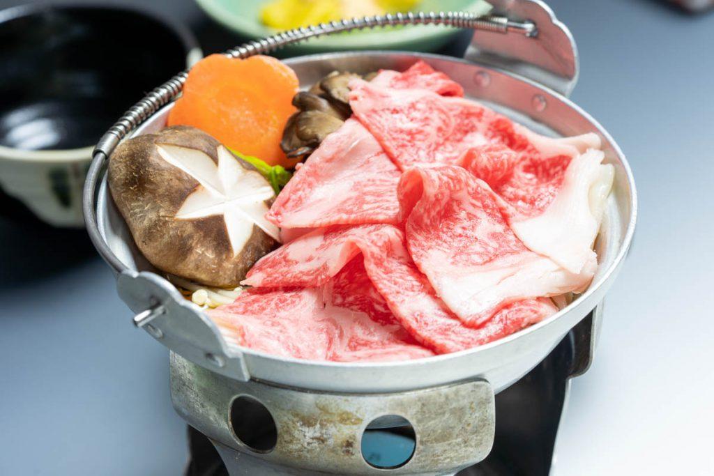 上州牛の小鍋