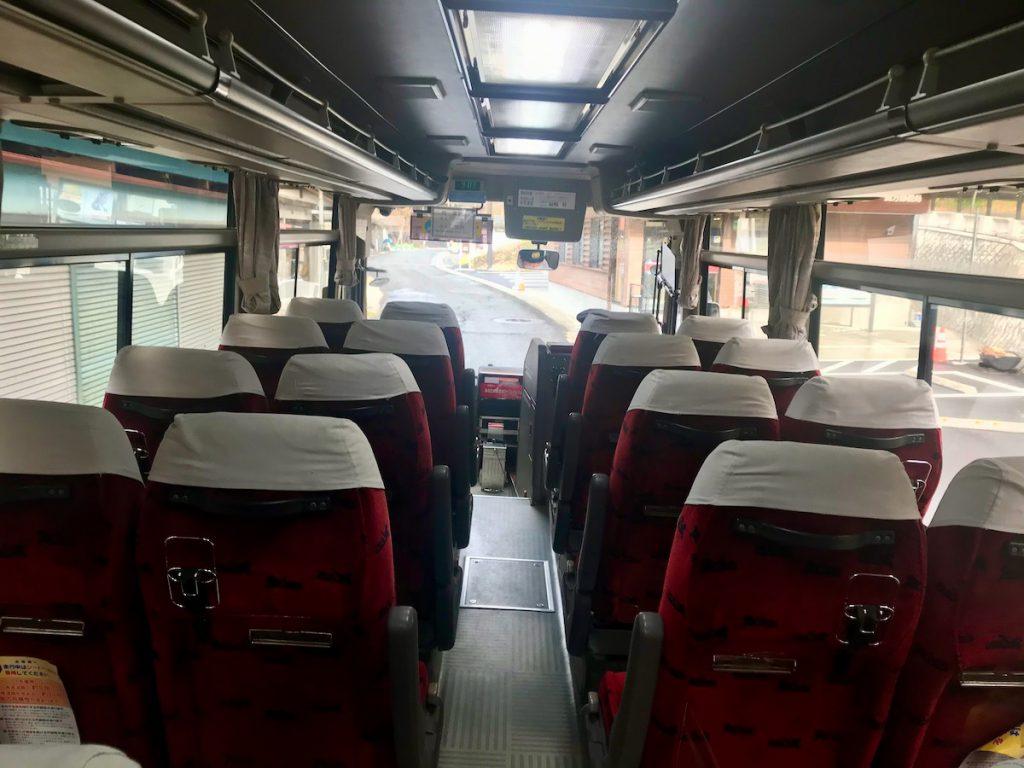 ぐるりんバス(車内)
