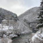 四万温泉 現在の雪の状況