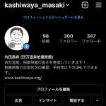 インスタフォロワー200人到達!