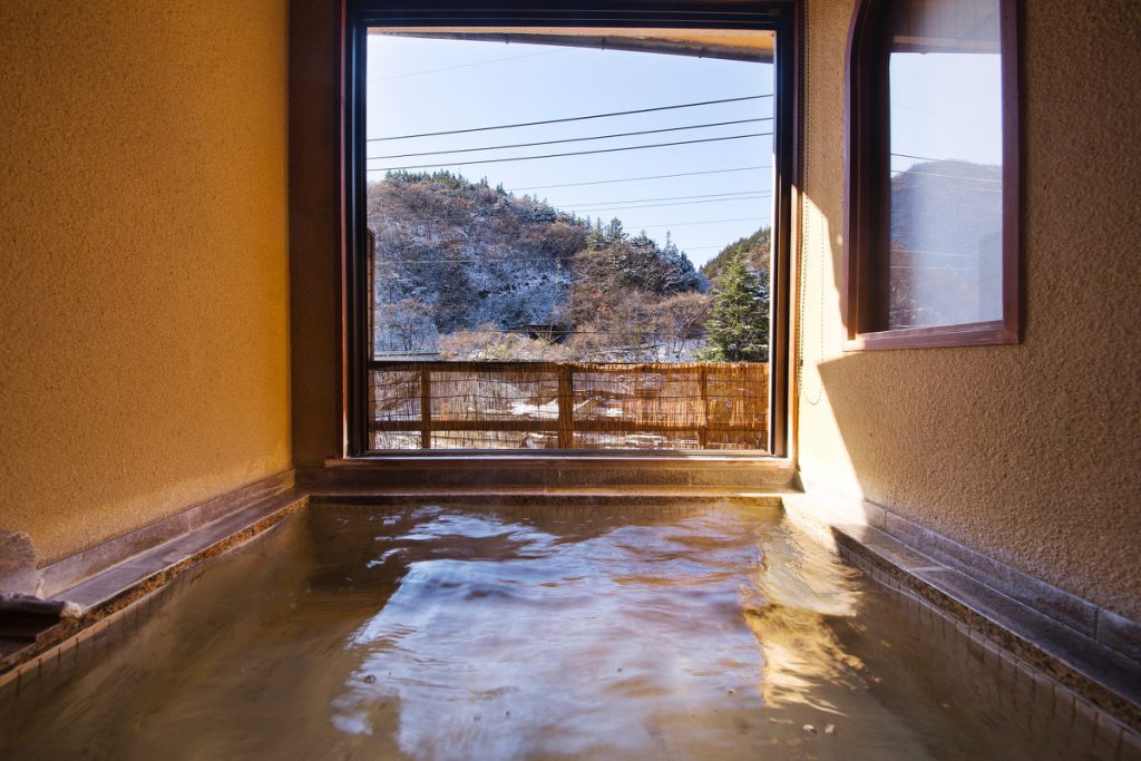 In room Onsen (HANA room)