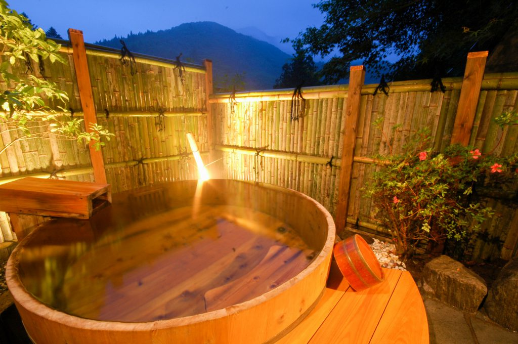Private open-air Onsen