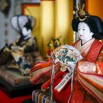 Princess Maya Festival; All the town is decorated with Tsurushibina and Hina dolls