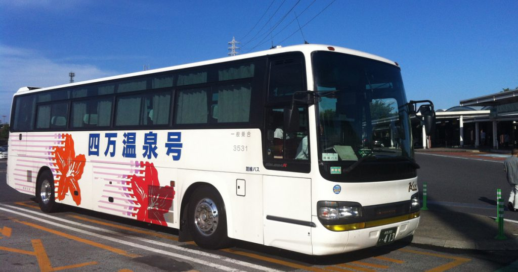 Direct bus from Tokyo