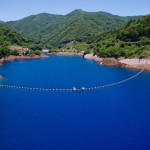 Shima Blue is the treasure of Shima Onsen, which we are proud of in the world