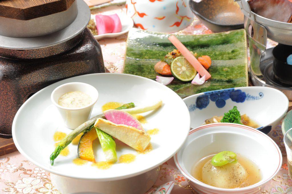 Washoku dinner