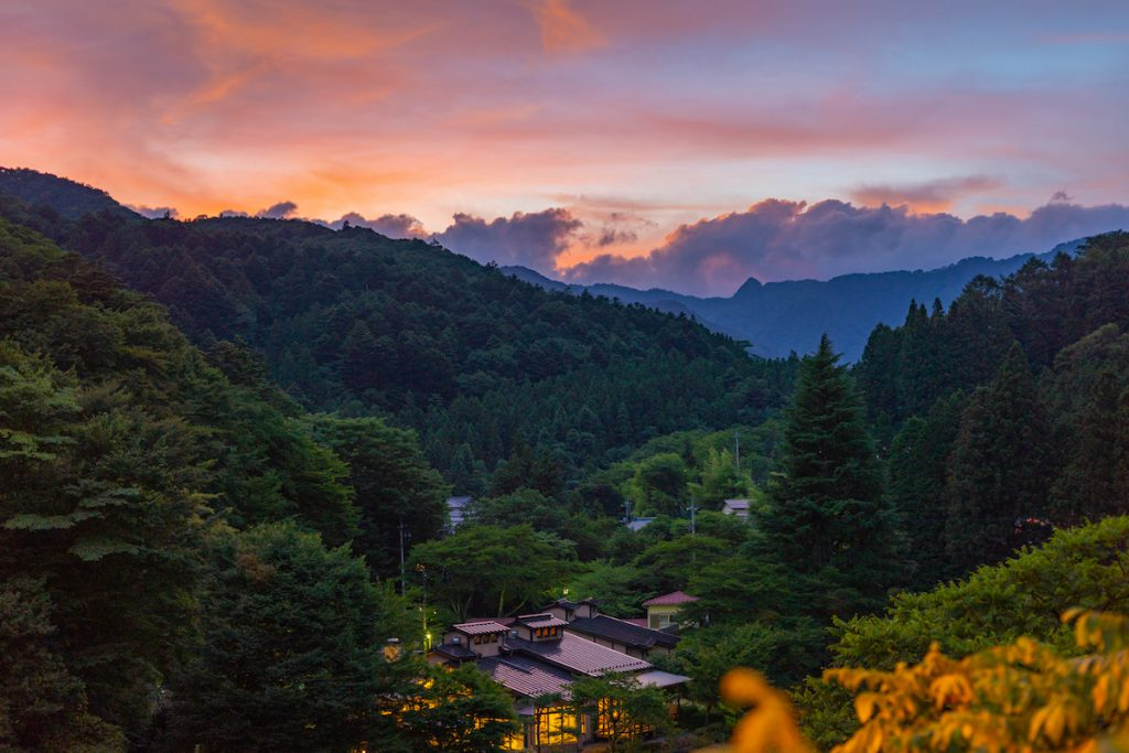 Evening Shima Onsen