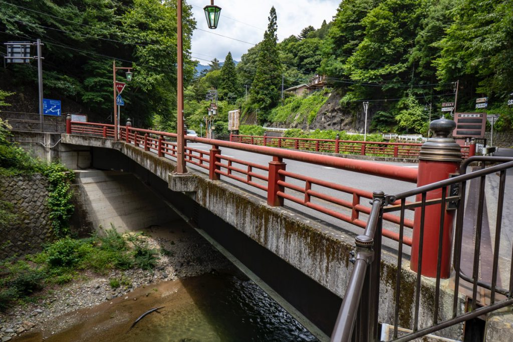Tsukimibashi bridge