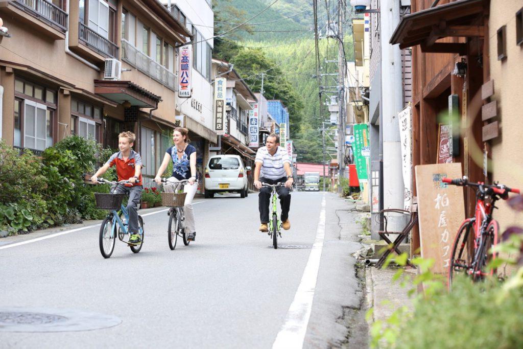 Bike in Shima Onsen