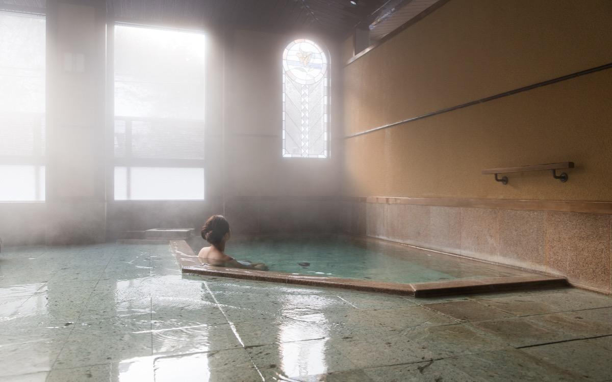 Indoor public onsen
