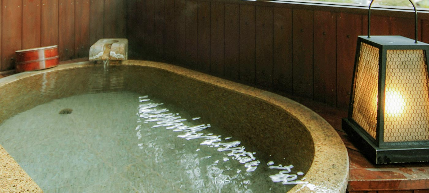 露天風呂付き客室「亀の間」が2階へ