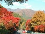 紅葉の四万温泉