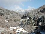 雪の四万温泉