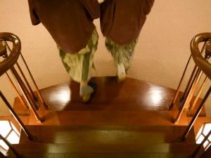 階段が苦手ですが