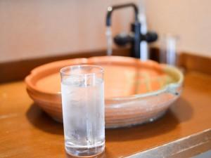 四万温泉のお水