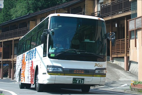 高速バス四万温泉号で行く東京からの直行バスプラン